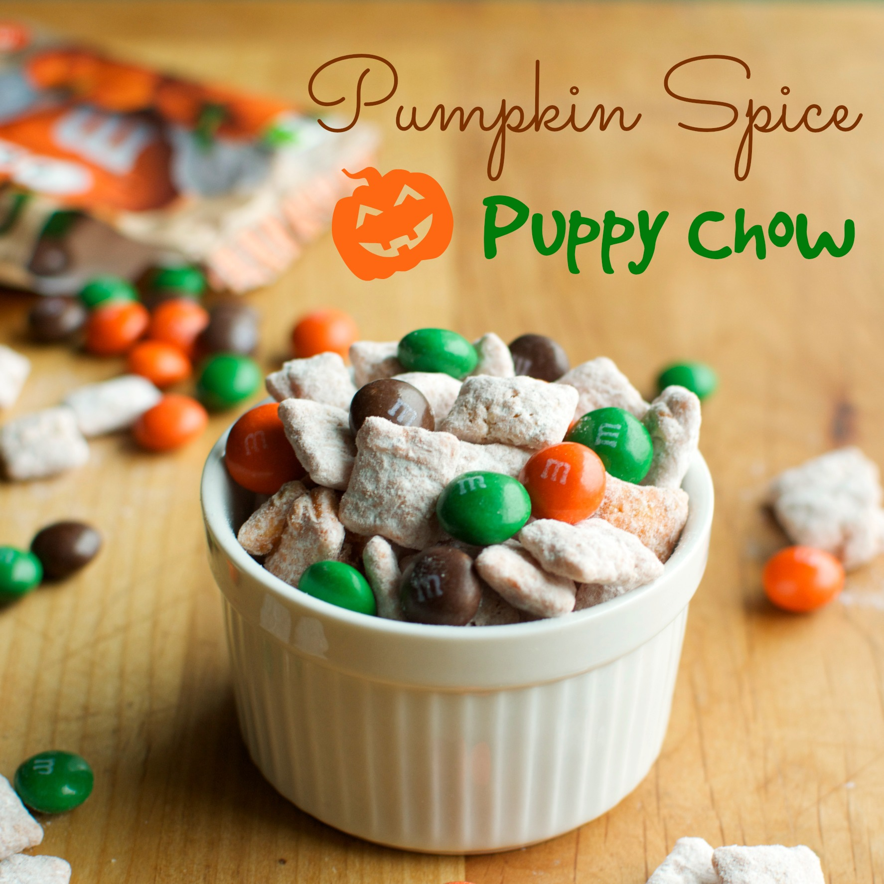 Pumpkin Spice Puppy Chow A Bajillian Recipes