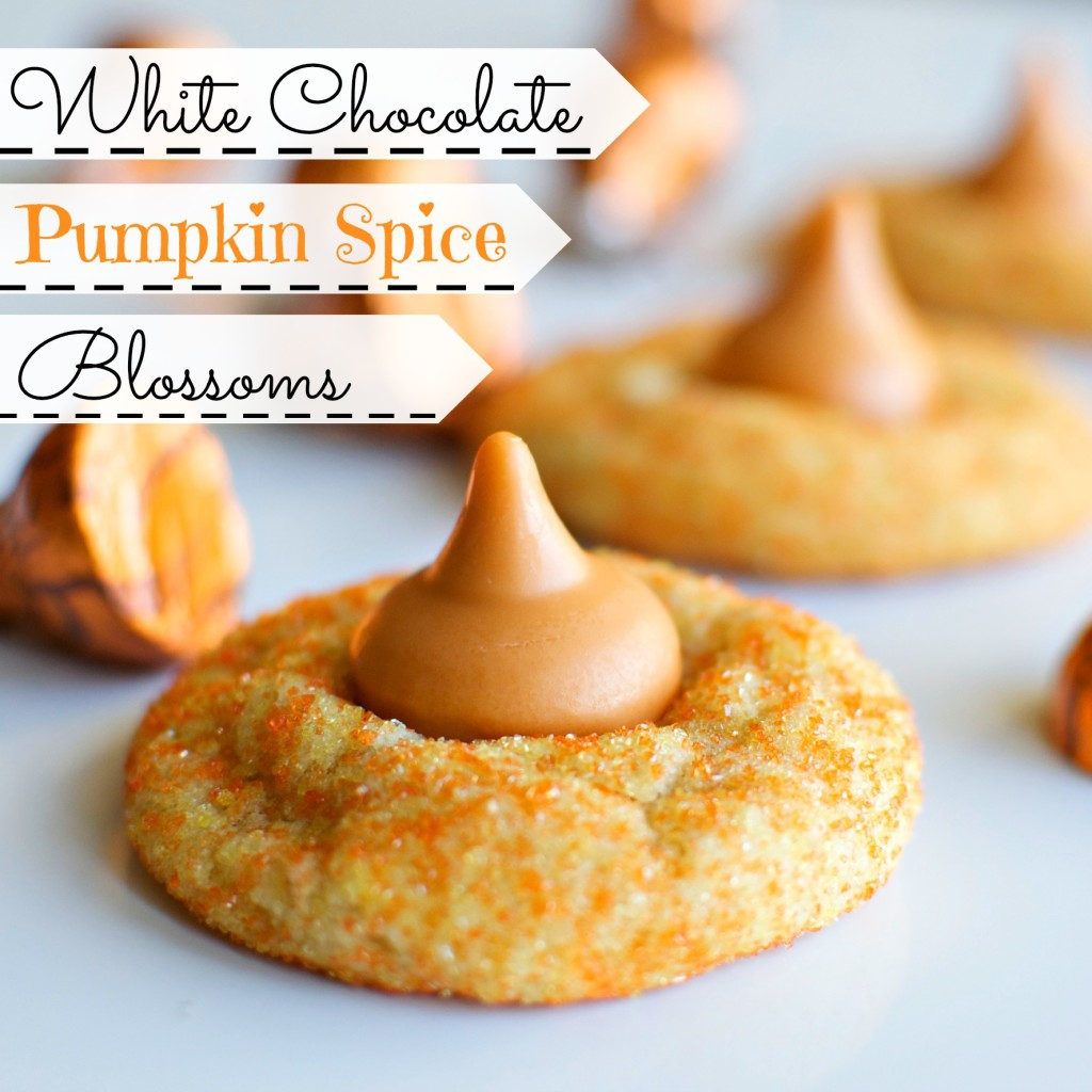 White Chocolate Pumpkin Spice Blossoms | A baJillian Recipes