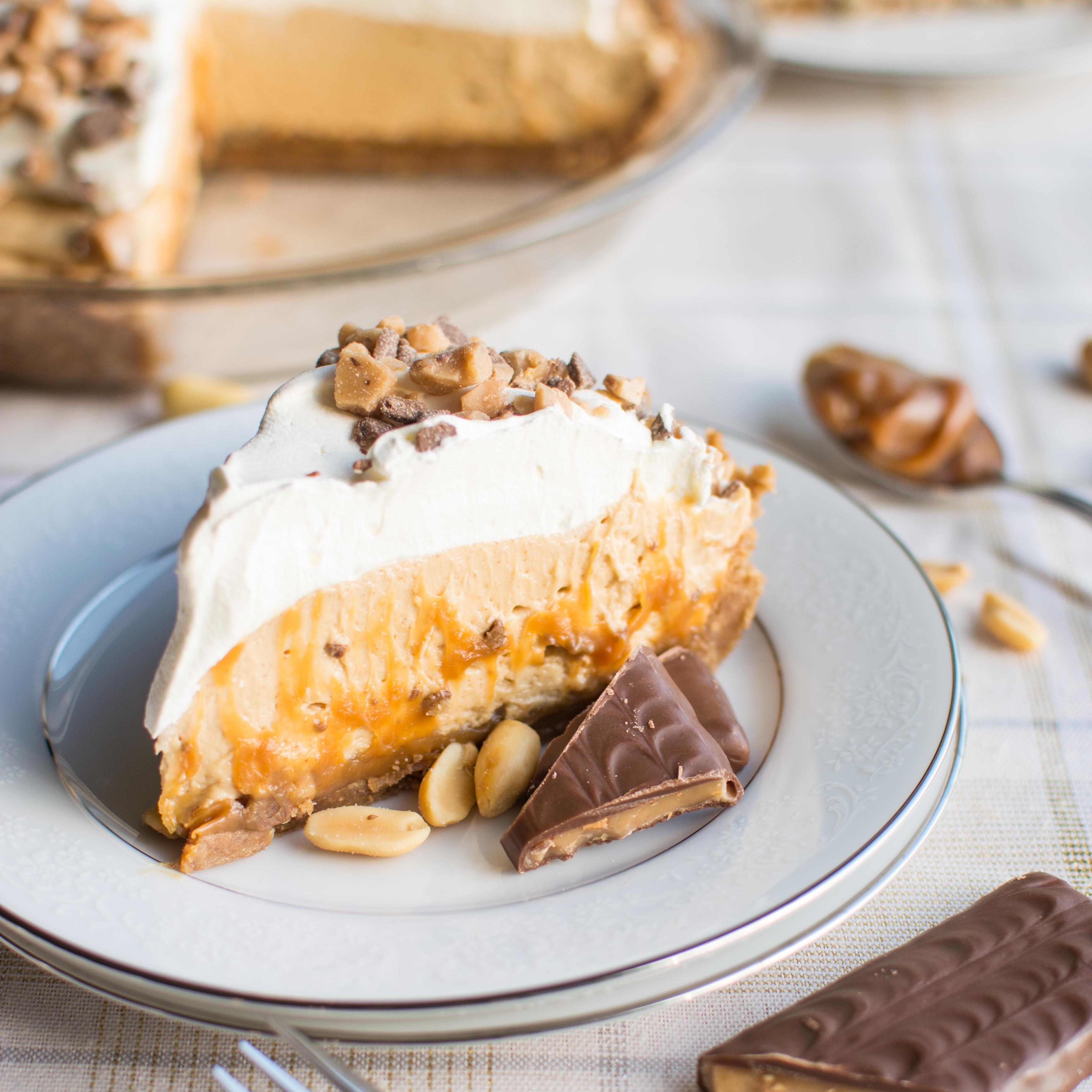 Peanut Butter Toffee Cream Pie A Bajillian Recipes